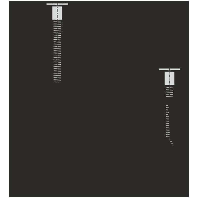 AlcaPLAST P113 Kołek rozporowy do górnego montażu